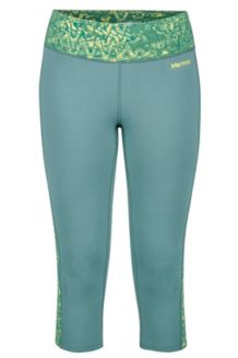 Wm's Meghan Capri, Urban Army/Deep Teal Terrain, medium