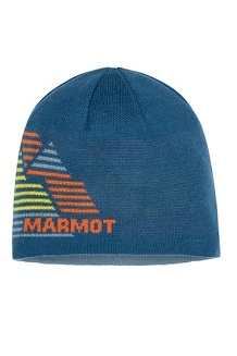 Men's Novelty Reversible Beanie, Moroccan Blue, medium