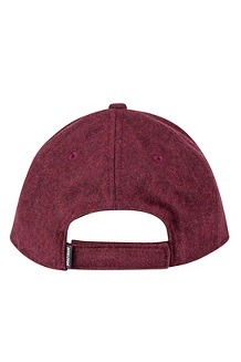 Men's Wool Cap, Fig/Terracotta, medium