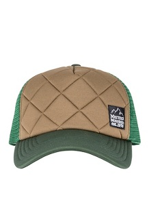 Men's Winter Trucker Hat, Crocodile/Rosin Green, medium