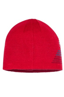 Boys' Novelty Reversible Beanie, Team Red, medium