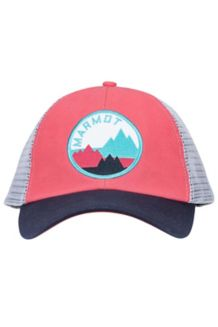 Wm's Kira Trucker, Hibiscus, medium