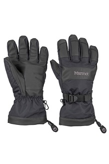 Men's Nano Pro Gloves, Black, medium