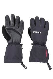 Women's Warmest Gloves, Black, medium