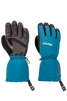 Women's Warmest Gloves, Moroccan Blue, medium