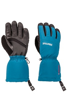 Women's Warmest Gloves, Moroccan Blue, medium