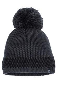 Women's Charlene Hat, Black/Dark Steel, medium