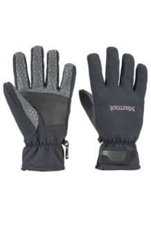 Glide Softshell Glove, Black, medium
