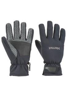 Glide Softshell Glove, Black, medium
