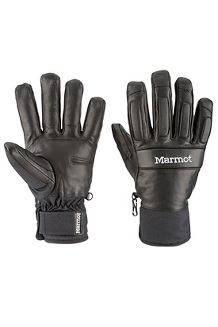 Men's Tahoe Undercuff Gloves, Black, medium