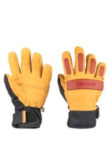 Tahoe Undercuff Glove, Tan/Dark Rust, medium