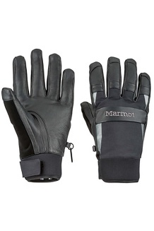 Men's Spring Glove, Black, medium