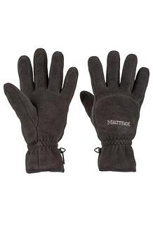 Men's Fleece Glove, Black, medium
