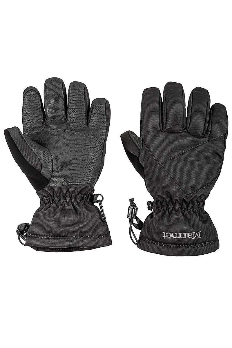 Boy's Glade Glove, Black, large