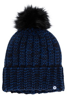 Women's Sadie Beanie, Black/Arctic Navy, medium