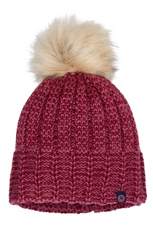 Women's Sadie Beanie, Dry Rose/Claret, medium
