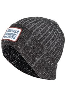 Retro Trucker Beanie, Black, medium