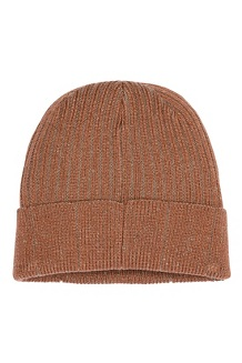 Men's Retro Trucker Beanie, Terracotta, medium