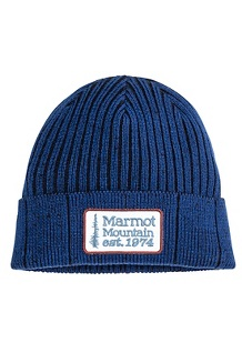 Men's Retro Trucker Beanie, Arctic Navy/Black, medium