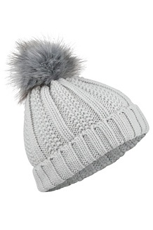 Women's Bronx Pom Hat, Bright Steel, medium