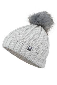 Wm's Bronx Pom Hat, Bright Steel, medium