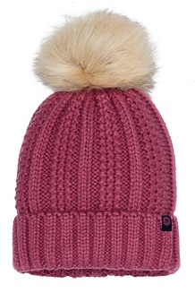 Women's Bronx Pom Hat, Dry Rose, medium