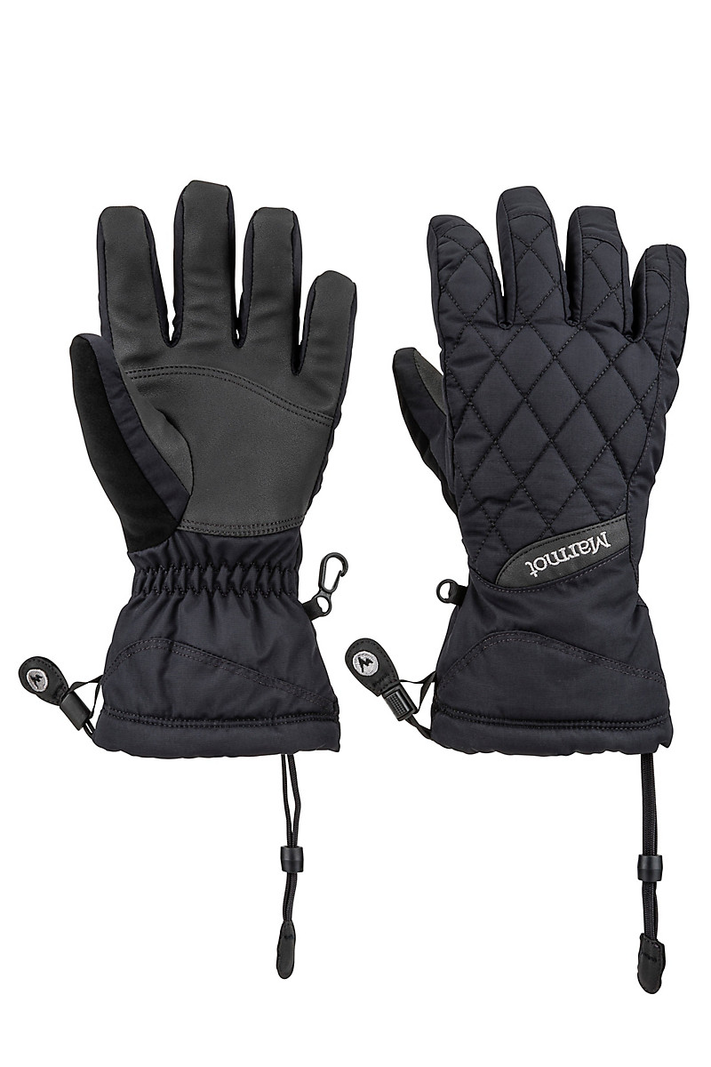 Wm's Moraine Glove, Black, large