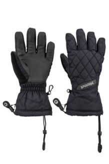 Wm's Moraine Glove, Black, medium