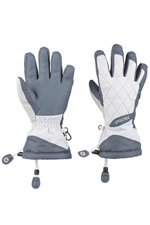 Women's Moraine Gloves, Steel Onyx/Bright Steel, medium