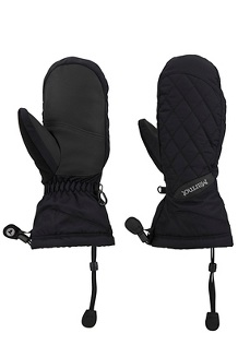 Women's Moraine Mitts, Black, medium