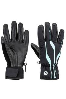Women's Spring Glove, Black, medium