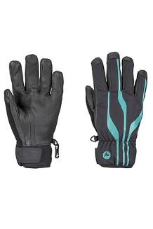Women's Spring Glove, Black/Patina Green, medium