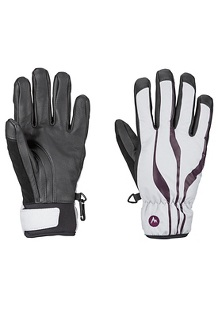 Women's Spring Glove, Bright Steel/Dark Purple, medium