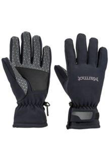 Wm's Glide Softshell Glove, Black, medium