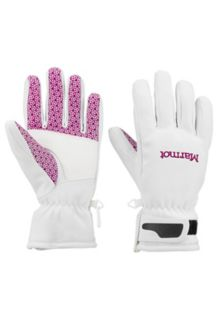 Wm's Glide Softshell Glove, Soft White, medium