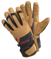 Exum Guide Undercuff Glove, Black/Tan, medium