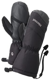 Wm's Warmest Mitt, True Black, medium