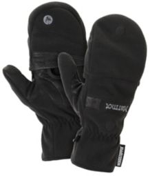 Windstopper Convertible Glove, Black, medium