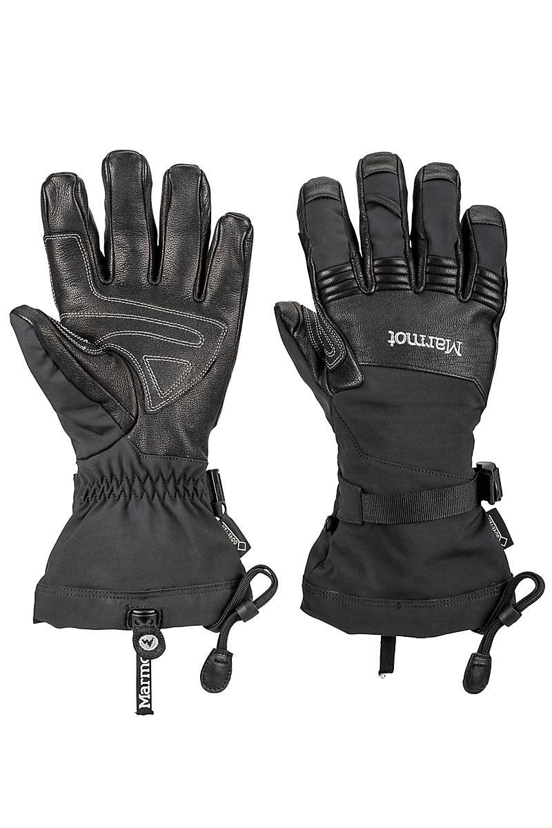 Mens ski gloves xl - Ultimate Ski Glove Black Large