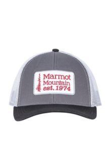 Retro Trucker Hat, Dark Steel/Black, medium