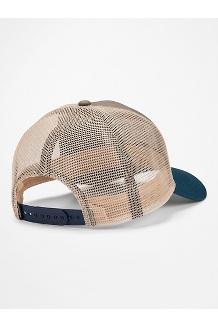 Retro Trucker Hat, Dark Steel/Enamel Blue, medium