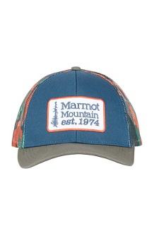 Retro Trucker Hat, Denim/Crocodile, medium