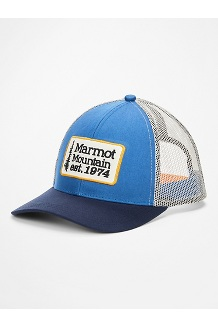 Retro Trucker Hat, Varsity Blue/Arctic Navy, medium