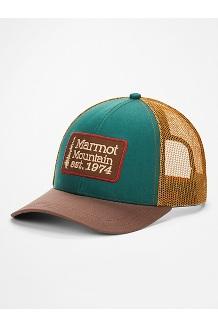 Retro Trucker Hat, Botanical Garden/Scotch, medium
