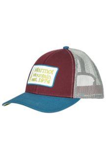 Retro Trucker Hat, Burgundy, medium