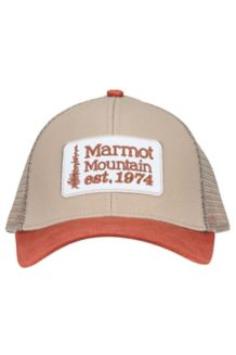 Retro Trucker Hat, Light Khaki, medium