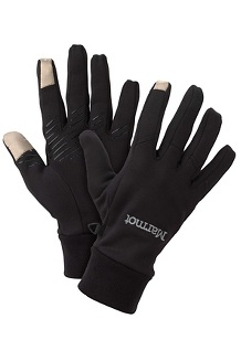 Men's Connect Glove, Black, medium