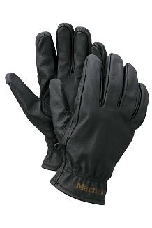 Men's Basic Work Gloves, Black, medium