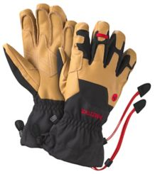Exum Guide Glove, Black/Tan, medium