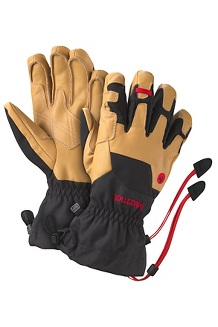 Men's Exum Guide Gloves, Black/Tan, medium